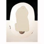 Počátek, 2014, 124 x 88 cm, koláž,Kč 44.000,-