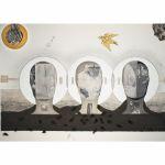 Autoskopie, 2014, 150 x 102 cm, koláž, Kč 51.354,-