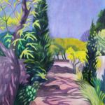Cesta v zahradách, 110 x 70cm, 2010, Kč 31.000,-