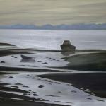 Záliv, 110 x 70cm, 2005, Kč 30.000,-